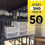 Every 2nd Item at 50% Off at Citylife Warehouse Outlet