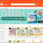 $10 off Diapers at Shopee ($40 Minimum Spend)