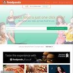 20% off All Orders at foodpanda ($35 Minimum Spend)