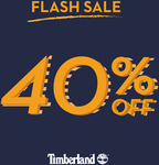 Timberland - 40% off with Minimum Purchase of 2 Items (In-Store)