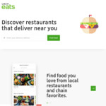 New Users UberEats One Month Free Delivery