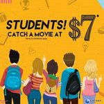 $7 Movie Tickets (for Students) at Cathay Cineplexes