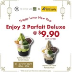 2x Parfait Deluxe for $9.90 (U.P. $17) at 108 Matcha Saro [Instagram Required]