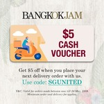 $5 off at Bangkok Jam E-Store