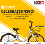 Free $10 Voucher for oBike