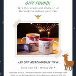 15% off Merchandise Items at Starbucks