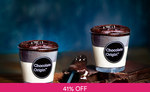 2 Cups of Chocolate Lava Cake for $6.50 (U.P. $11) from Chocolate Origin via Fave [previously Groupon]