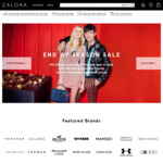 25% off Sitewide ($80 Min Spend) at Zalora (Plus Extra 12% off with Google Pay)
