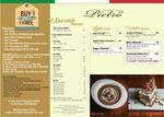 1 for 1 Deal at Pietro Ristorante Italiano