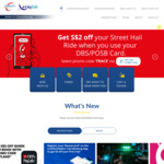 $5 off 2x Rides with ComfortDelGro Taxi (DBS PayLah! Payments)