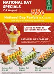 $0.55 National Day Parfait with Purchase Selected Special Rolls at Sushi Tei