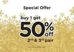 Crocs - Buy 1 Pair and Get 50% off 2nd & 3rd Pair (In-Store Only)