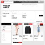 Women's Flare Shorts for $14.90 (U.P. $29.90), Flare Short Sleeve Dresss $39.90 (U.P. $49.90) at UNIQLO
