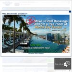 Make Any 3 Hotel Bookings and Get 1 Free Room Night at 5-Star Marina Bay Sands Hotel Singapore from Pinnacle Travel