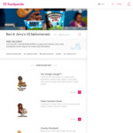 Free Delivery and foodpanda Cooler Bag at Ben & Jerry's via foodpanda ($20 Minimum Spend)