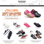 Buy 2, Get 40% off at Crocs (Halloween Collection)