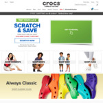 Crocs Singapore Coupon Code - 10% off, $10 off $60+ Spend & Free Shipping