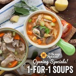 1 for 1 Soups at The Soup Spoon (Northpoint)