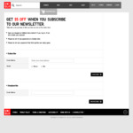 $5 off ($60 Min Spend) at UNIQLO - Newsletter Subscription Required