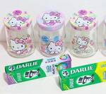 Free Hello Kitty Glass Jar with the Purchase of 3x Darlie Toothpaste Products from Selected Stores