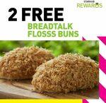 2x Free Floss Buns from BreadTalk (StarHub Rewards)
