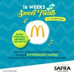 Free $10 McDonald's Voucher from SAFRA Yishun (Principal Members Only)