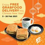 Free Delivery at WangCafe via GrabFood