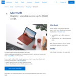 Spend $100/ $1000, Get a $10/ $100 Statement Credit @ Microsoft Online (American Express Cardholders)