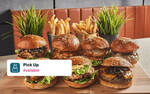 Burger Set for 2 for $20.58 (U.P. $27.80) at Wolf Burgers