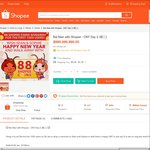 Free 88 Shopee Coins (Worth $0.88) at Shopee (First 1000 Comments)