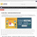 cPanel Web Hosting SSD Cloud No Limits $3.75 USD (~$5.30 SGD)/Mo @ Weekhost