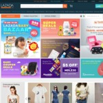 18% off Sitewide at Lazada (New Customers)