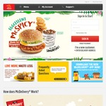$5 Cashback When Paying with DBS PayLah! at McDonald's McDelivery ($18 Minimum Spend)