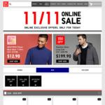 UNIQLO 11.11 Singles Day Offers - Heattech Fleece Turtle Neck T-Shirt $12.90, Blocktech Fleece Hoodie $29.90 + More