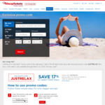 17% Off Selected Hotel Bookings (Max USD $150 Discount) for Travel up to Sep 30 2018 @ cheaptickets.com