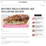 5% Cashback at Beverly Hills Cheesecake Factory with FavePay via Fave (previously Groupon)
