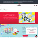 $25 for 20GB of Data for Singtel Prepaid Card (New Hi! Card Users)