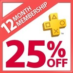 PlayStation Plus 12 Month Membership for $39.90 (25% off) at PlayStation Store