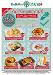 Up to 56% off: Wonton Noodles $3.80 (U.P. $5.80), Pork Congee w/ Century & Salted Eggs $3.30 + More for Vaccinated @ Tim How an