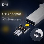 DM USB to Micro USB Male OTG Adapter for US $0.10 (~SG $0.15) Delivered from GearBest