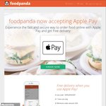 Free Delivery on Orders Over $35 at foodpanda (Apple Pay)