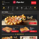 Large Classic Pizza (Pan or Hand Stretched) for $3 with $25 Minimum Spend at Pizza Hut Delivery [OCBC Cards]