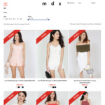 110 Selected Items (Dresses, Skirts, Tops, Flats) at $11 Each from MDS Collections
