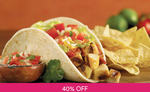 $10 Baja Fresh Mexican & Grill Voucher for $6 via Fave (previously Groupon)