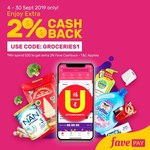 Extra 2% Cashback ($30 Min Spend) on Top of Existing 1% on U Stars Supermarket Purchases with FavePay
