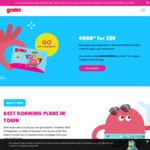 Get 40GB for $20 + $20 Credit to Use in Your 2nd Month at GOMO Mobile