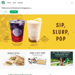 Free 9/9 Reusable Cup with Any Venti Sized Handcrafted Beverage at Starbucks