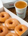 Coffee with 3 Assorted Doughnuts for $8.85 (U.P. $14.35) at Krispy Kreme via Lazada