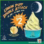 2x Lemon Puff Mr Softee for $2 (U.P. $3) at 7-Eleven