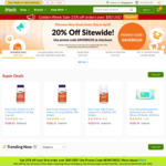 21% off Sitewide (US $80 Min Spend) at iHerb
